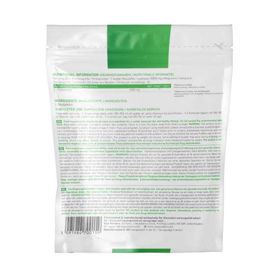 Micronized L-Glutamine powder