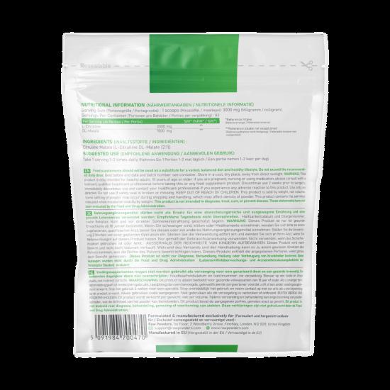 Citruline Malate Powder 250 grams