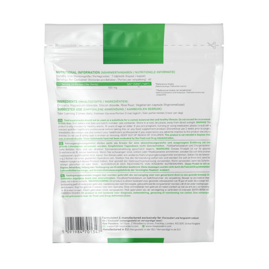 Chlorella 500mg 120 Capsules