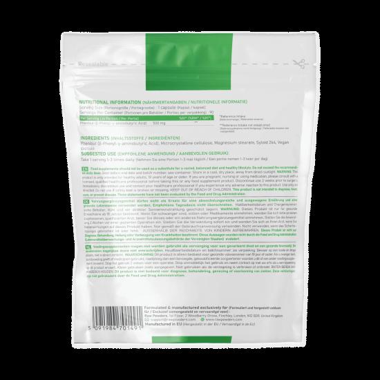 Phenibut HCL 500 mg. 90 Capsules
