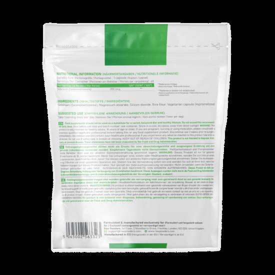 Selenium (Selenometionine) 200mcg 60 Capsules