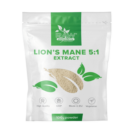 Lion's Mane 5:1 Extract Powder 100 grams