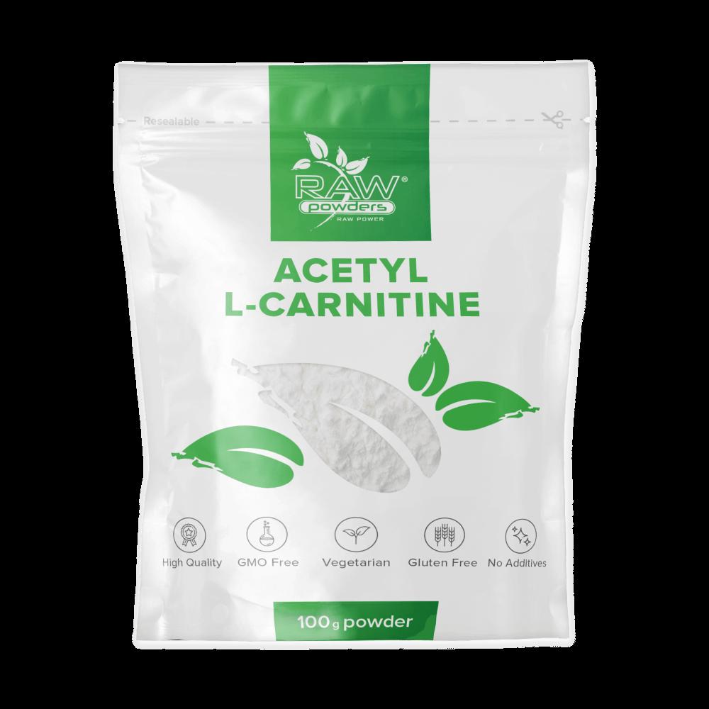 Acetyl L-carnitine (ALC carnitine) Powder 100 g Pure Powder