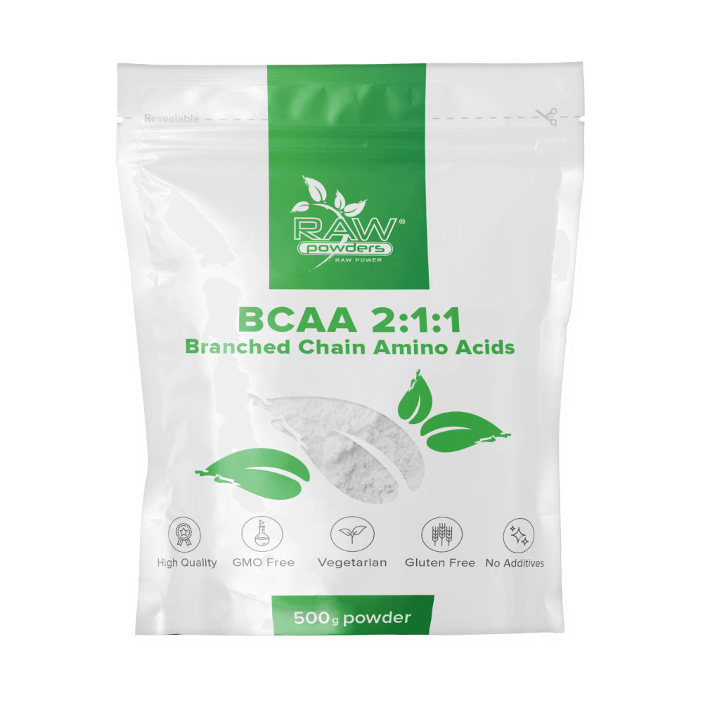 BCAA 2:1:1 Powder 500 grams