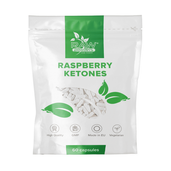 Raspberry Ketones 500mg 60 Capsules