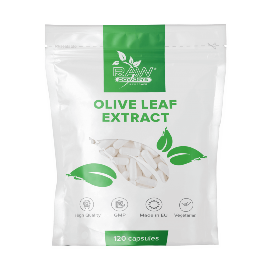 Olive Leaf Extract 500mg 120 Capsules