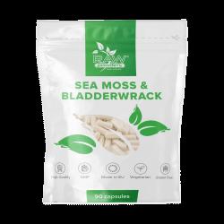 Sea Moss 250mg & Bladderwrack 250mg 90 Capsules